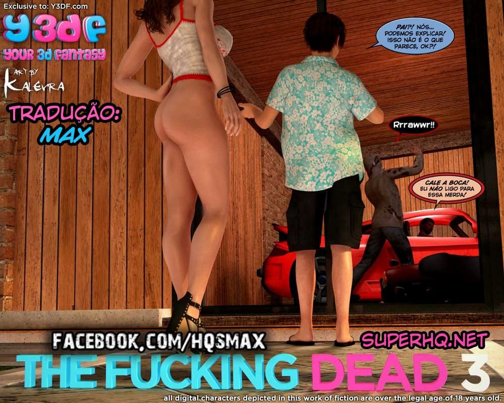 The Fucking Dead 3 - Hentai 3D