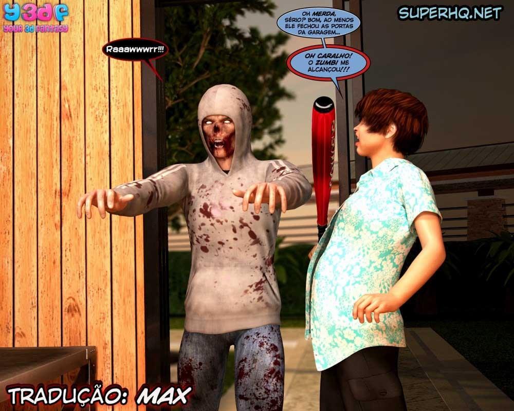 The Fucking Dead 3 - Hentai 3D