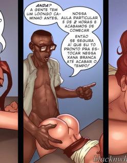 Detention 1– Quadrinho porno Inter-Racial - Foto 17