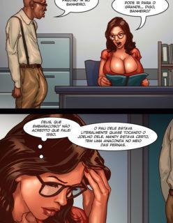 Detention 1– Quadrinho porno Inter-Racial - Foto 28