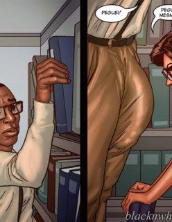 Detention 1– Quadrinho porno Inter-Racial - Foto 31