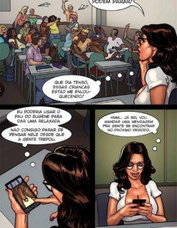 Detention 2 – Quadrinho porno Inter-Racial - Foto 2