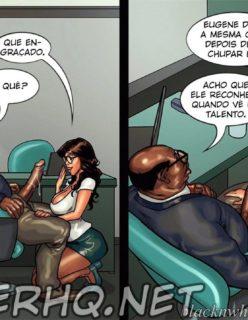 Detention 2 – Quadrinho porno Inter-Racial - Foto 15