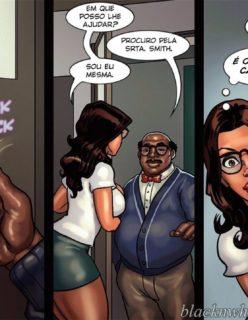 Detention 2 – Quadrinho porno Inter-Racial - Foto 4