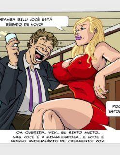 Esposas Querem se Divertir Também 1 - Hentai e Quadrinhos Eróticos - Foto 2