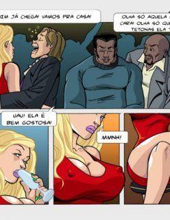 Esposas Querem se Divertir Também 1 - Hentai e Quadrinhos Eróticos - Foto 3