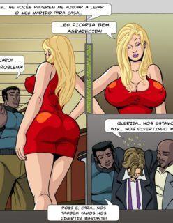 Esposas Querem se Divertir Também 1 - Hentai e Quadrinhos Eróticos - Foto 5