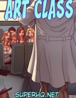 Art Class – Quadrinhos Porno