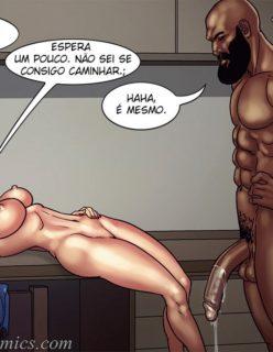 Art Class - Quadrinhos Porno - Foto 38