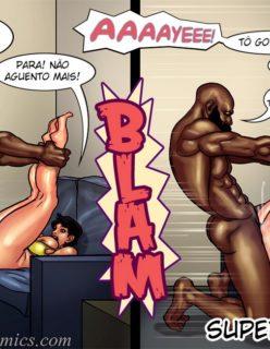 Art Class - Quadrinhos Porno - Foto 56