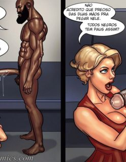 Art Class - Quadrinhos Porno - Foto 79