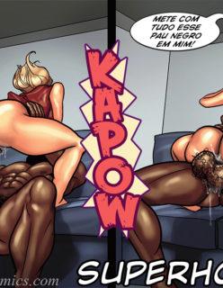Art Class - Quadrinhos Porno - Foto 87