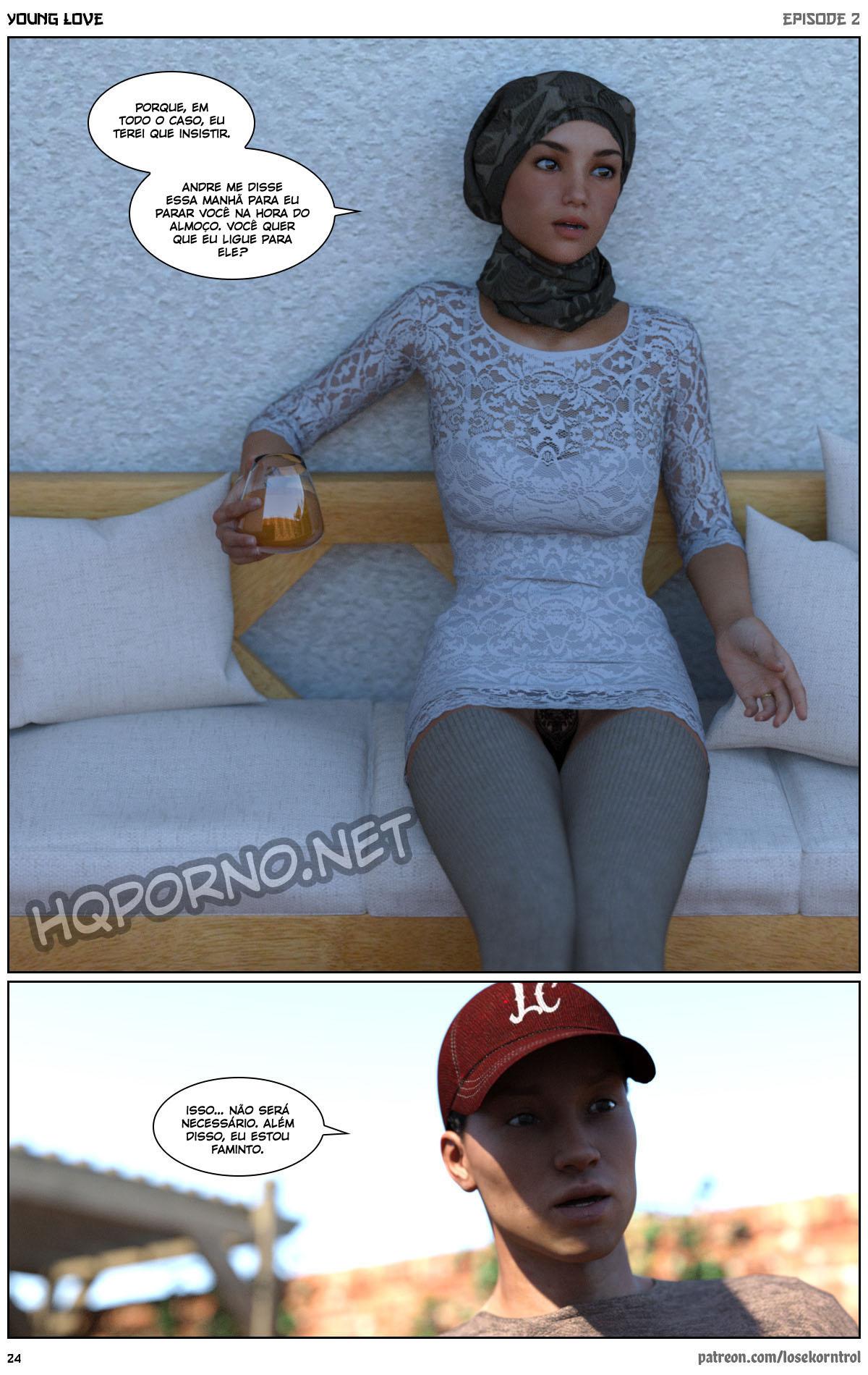 Quadrinho erotico 3D - Young Love Vol.2