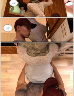 Quadrinho erotico 3D - Young Love Vol.2 - Foto 34