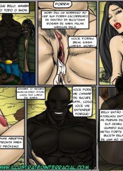 Uma Patricinha no Gueto - Quadrinho Interracial - Foto 27